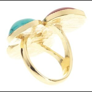 T&J Designs Jewelry - Turquoise trio stone ring